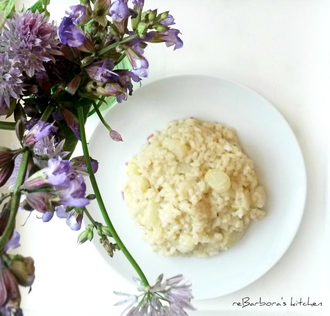 Risotto s chřestem | reBarbora's kitchen