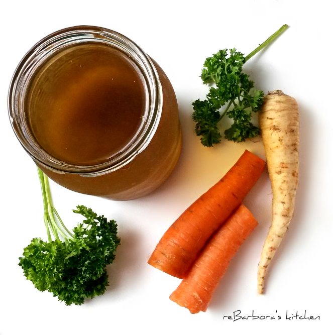 Zeleninový vývar | reBarbora's kitchen