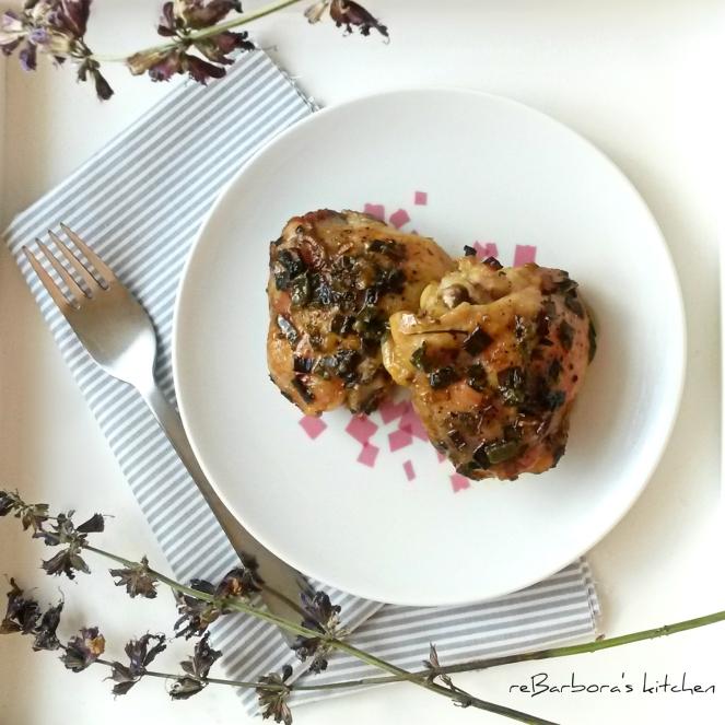 Kuřecí stehýnka na šalvěji | reBarbora's kitchen