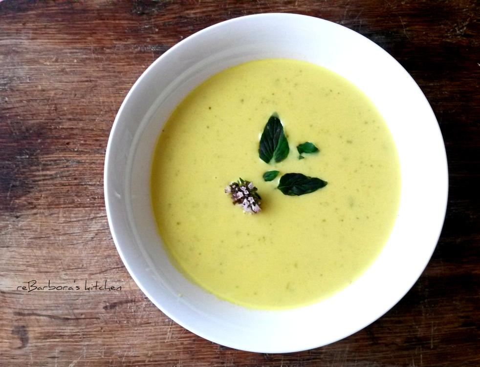 Cuketová polévka | reBarbora's kitchen