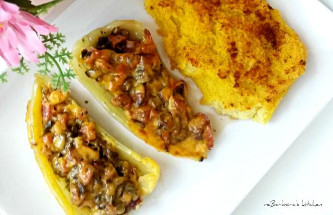 Plněné paprikové lodičky | reBarbora's kitchen