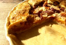 Mandlovo - špaldová galetka s broskvemi (Galette) | reBarbora's kitchen