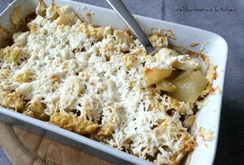 Cuketa zapečená se sýrem feta | reBarbora's kitchen