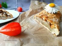 Mandlovo-hruškový štrůdl s levandulí | reBarbora's kitchen