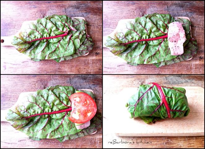 Kuřecí kousky v mangoldu | reBarbora's kitchen
