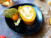 Dýňová roláda s vanilkovým krémem | reBarbora's kitchen