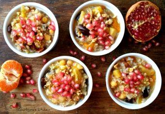Aşure (turecký veganský dezert) | reBarbora's kitchen