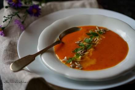 Dýňová polévka s červenou čočkou a kokosovým mlékem (vegan)   reBarbora's kitchen
