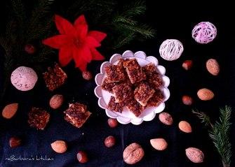 Linecké kostičky s ořechy a medem | reBarbora's kitchen