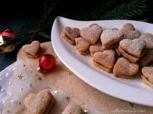 Mandlová srdíčka s čokoládovým krémem | reBarbora's kitchen