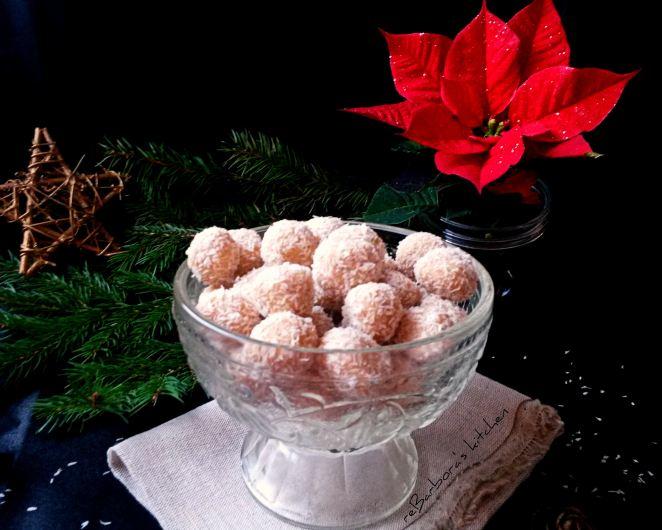 Domácí rafaelo - neboli kokosové kuličky | reBarbora's kitchen