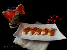 Plněné rolky z uzeného lososa | reBarbora's kitchen
