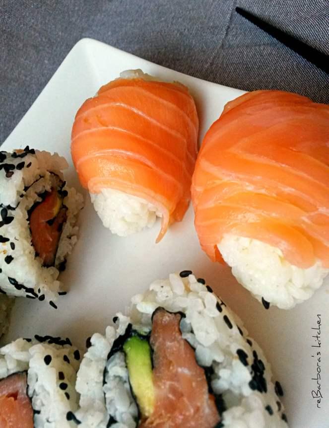 Sushi - 3 základní druhy (maki, uramaki, nigiri) | reBarbora's kitchen