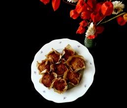 Pohankovo-jablečné muffiny s rozinkami a brusinkami/bezlepkové | reBarbora's kitchen