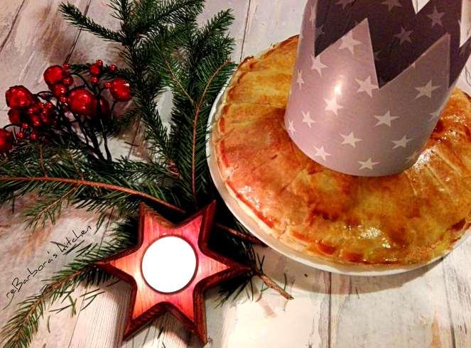 Galette des rois - mandlový tříkrálový koláč | reBarbora's kitchen