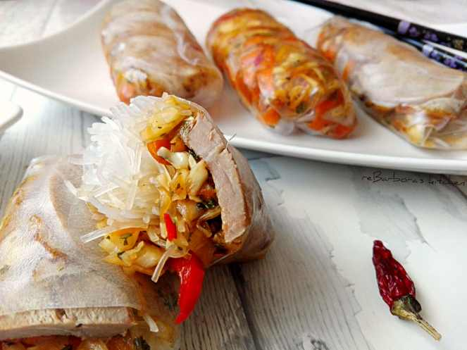 Vietnamské letní závitky s kachním prsíčkem | reBarbora's kitchen
