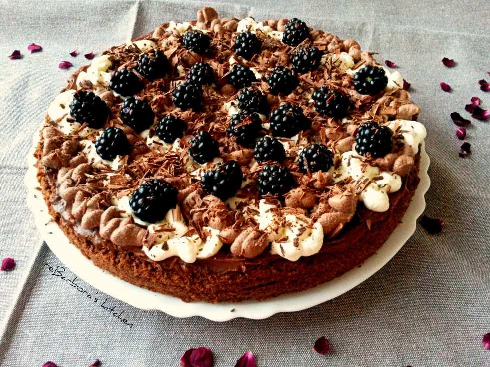 Bezlepkový mandlový čoko dort | reBarbora's kitchen