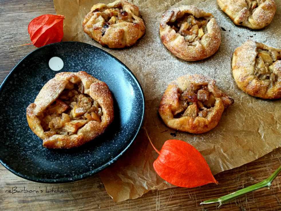 Jablečno-hruškové mini galetky | reBarbora's kitchen