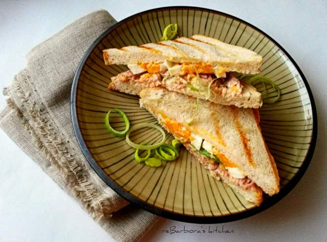 Tuňákový sendvič | reBarbora's kitchen