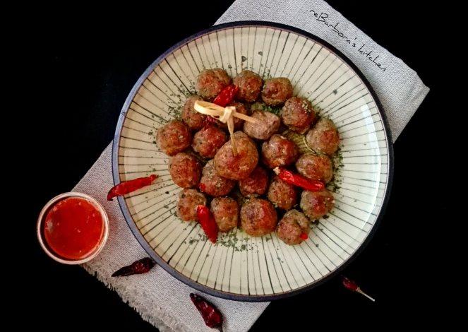 Asijské mleté kuličky | reBarbora's kitchen