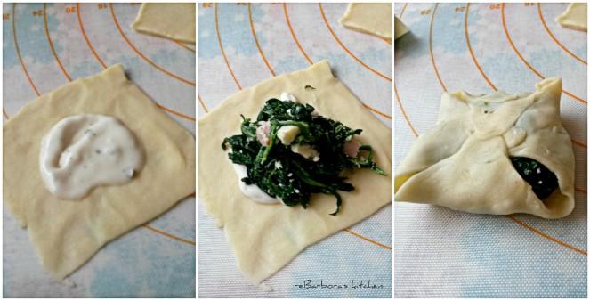 Špenátové šátečky | reBarbora's kitchen