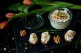 Pomazánka ze sýru s modrou plísní s ořechy | reBarbora's kitchen