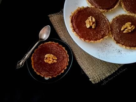 Tartaletky s karamelem a čokoládovou ganache | reBarbora's kitchen