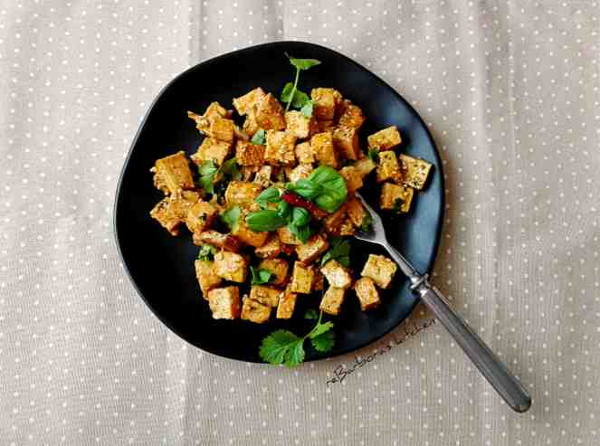 Tofu v pikantní medové marinádě | reBarbora's kitchen