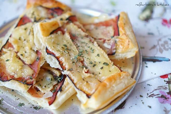 Listové tyčky se šunkou a sýrem | reBarbora's kitchen