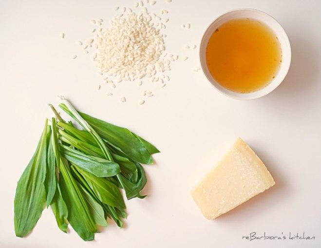 Risotto s medvědím česnekem | reBarbora's kitchen