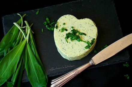 O medvědím česneku & medvědí máslo | reBarbora's kitchen