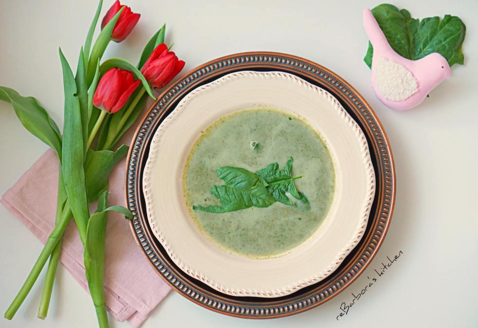 Špenátová polévka | reBarbora's kitchen