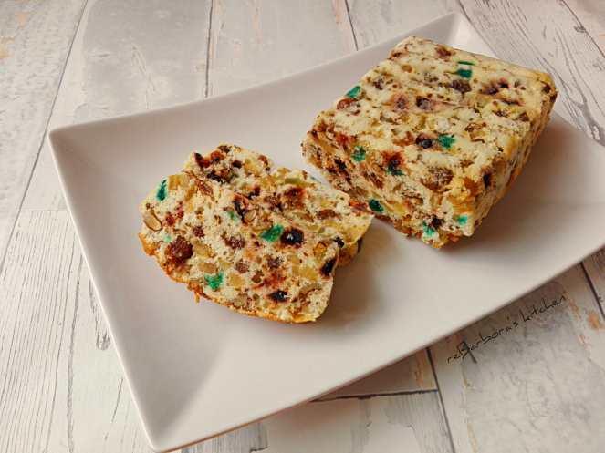 Bílkový chlebíček s kandovaným ovocem a ořechy | reBarbora's kitchen