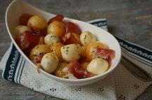 Meloun Cantaloupe s parmskou šunkou a mozzarellou | reBarbora's kitchen