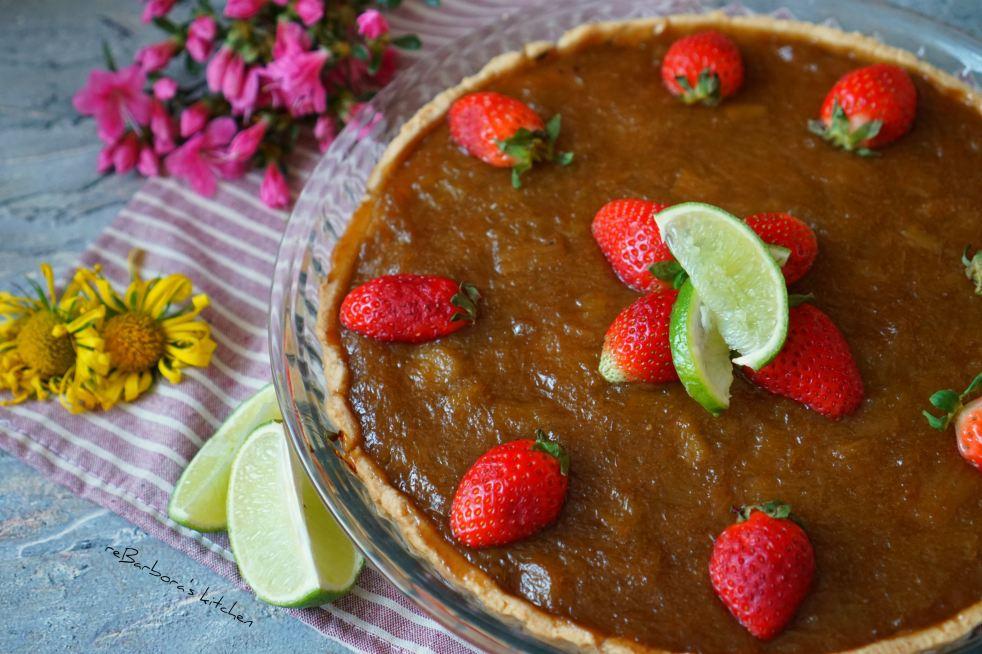 Rebarborový koláč s tvarohem | reBarbora's kitchen