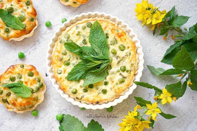 Hráškové koláčky s mátou | reBarbora's kitchen