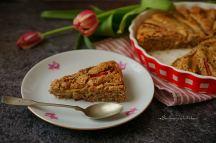 Mandlový koláč s rebarborou | reBarbora's kitchen