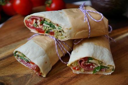 Wrap s avokádovou salsou nejen na piknik | reBarbora's kitchen