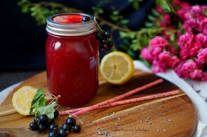 Limonáda z černého rybízu s levandulí | reBarbora's kitchen