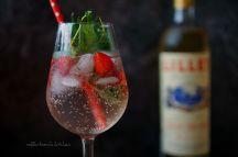 Lillet drink s jahodami citronovým tymiánem | reBarbora's kitchen