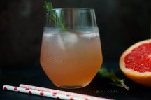 Lillet drink s grepovou šťávou a rozmarýnem | reBarbora's kitchen