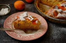 Meruňkový koláč s mascarpone a tymiánovým cukrem | reBarbora's kitchen