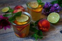 Broskvový ledový čaj | reBarbora's kitchen