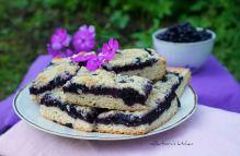 Borůvkový koláč s mandlovou drobenkou | reBarbora's kitchen