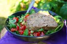 Grilovaný tuňák se svěžím salátem | reBarbora's kitchen
