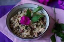Květákové rizoto s houbami a cuketou | reBarbora's kitchen