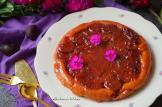 Švestkový tarte tatin - obrácený koláč s karamelizovanými švestkami | reBarbora's kitchen