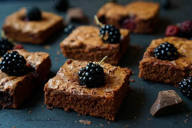 Brownies s ostružinami   reBarbora's kitchen