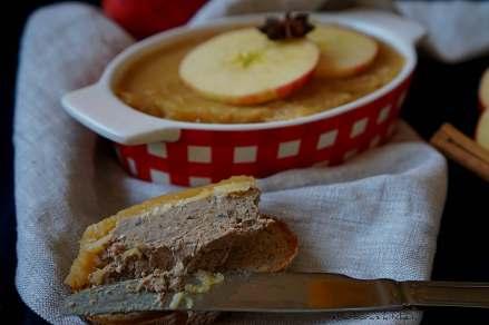 Podzimní paštika s jablečným rosolem | reBarbora's kitchen