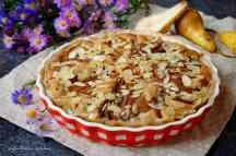 Mandlový koláč s hruškami | reBarbora's kitchen